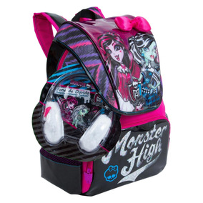 Mochila Costas Monster High Grande G E Fone Sestini Original