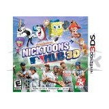 Juego Oficial 3ds Nicktoons Mlb
