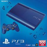 Ps3 Play 3 Super Slim 500 Gb Nueva+fifa18+46 Juegos Garantia