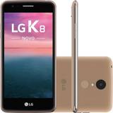 Celular Lg K8 2017 Novo 16gb 13mp Original +pelicular+capa