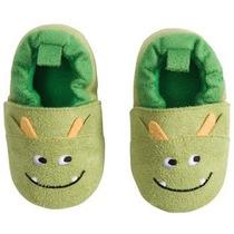 Carter´s Zapatos Pantuflas Bebé 12 A 18 Meses Modelo Monster