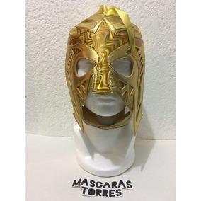Escorpión Dorado Máscara Dorada Semi Profesional