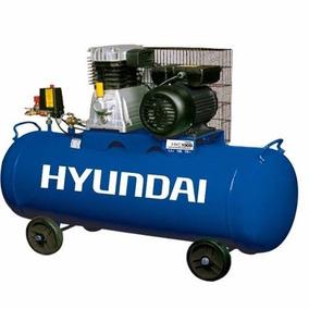 Compresor Hyundai 108l C Motor Weg 1.5 Hp Hyc100b
