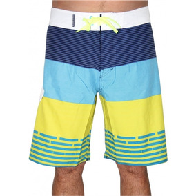 Bermuda Boardshort Hang Loose Birds Lima - Surf Alive