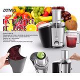 Juguera Power Juicer Atma Ex8245n Fruta Entera 800w