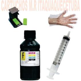 Snap Fill + 100ml Tinta Cartucho Hp 122 662 664 60 61 Xl