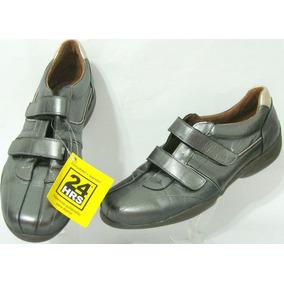 Hers Zapatos 40 Cuero Vacuno Color Peltre (ana.mar)