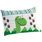 Fronha Avulsa Lepper Dino Dinossauro Porta Travesseiro 50x70
