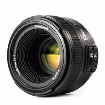 Lente Yongnuo Para Nikon 50mm F/ 1.8 Yn50mm Pronta Entrega!
