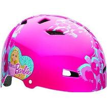 Barbie Roller Girl Multi-sport Bike El Casco De Bell Niño