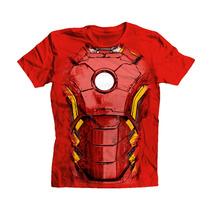 Playera Hombre Marvel Comic Iron Man Armadura War Toxic