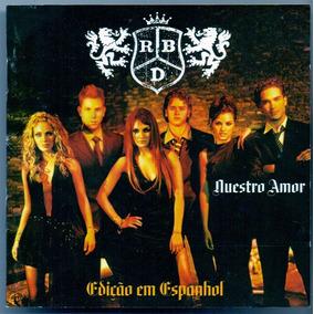 Cd Rebelde Nuestro Amor - Edição Em Espanhol