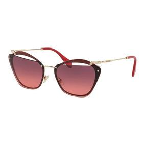 Óculos Miu Miu Vintage Gatinho Rajado Noir + Frete Grátis ... b2e3122555