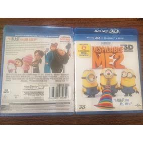 Mi Villano Favorito 2. 3d Blu-ray Nuevo.