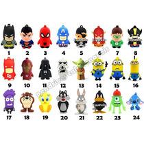Pendrive Personalizado 4gb Desenho Personagens De Boneco