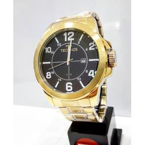 Relógio Technos Masculino Dourado 2115mgs4a