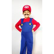 Disfraz Mario Bros Niño Nintendo Disfraces Videojuegos