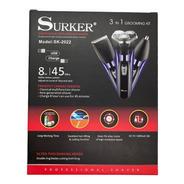 Máquina De Afeitar Eléctrica 3 En 1 Surker Usb/ Tomasstore