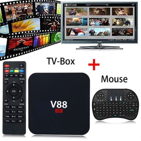 Tv Box Android Convertidor Smart Tv Mini + Teclado Qwerty