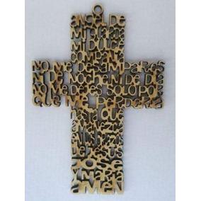 Paquete 25 Cruces Ángel De La Guarda 30cm