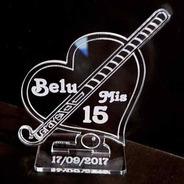 20 Palo Hockey Grays Souvenir En Acrílico Corazón 15 18 Años
