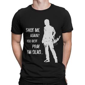 Camisa Daryl, Camisetas The Walking Dead Blusa De Séries Twd