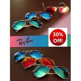 Gafas Ray Ban Aviador Rb3025 Original Lente Colores ¡oferta!