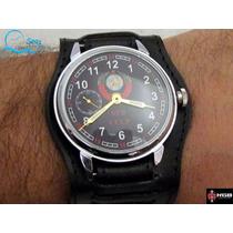 Raro Relogio Antigo Militar Russo Gigante Kgb Trench Watch