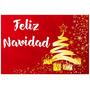 Afiches Posters Feliz Navidad Personalizados 48 X 33 Cm