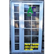 Puerta Y Media 120x200 Aluminio Reforzado