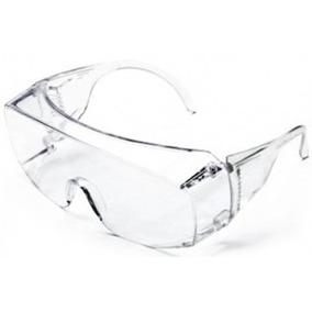 Óculos De Segurança Sobrepor Óculos De Grau - Transparente