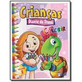 Colorir Diante Trono: Licoes P/ Toda Vida-46989