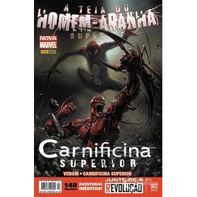 A Teia Do Homem-aranha Superior Nova Marvel 2 Panini Lacrada