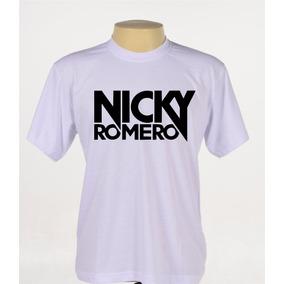 Camisa Camiseta Estampada Dj Nicky Romero Música Eletrônica