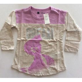 Remera Baby Gap Talle 18 Meses/ 2 Años Serie Disney Rapunzel