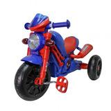 Tricimoto De Niño Ruedas 10 Pulgadas Spiderman Rojo