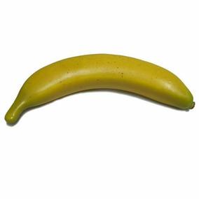 Fruta Artificial Banana Amarela Festa Decoração 10 Unidades