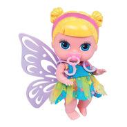 Boneca Babys Collection Mini Fada Loira - Super Toys 372