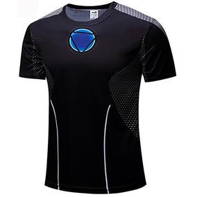 Camiseta Camisa Blusa Super Herói Dry Fit 229