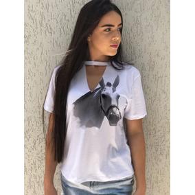 1c6520cce4 T Shirt Gola Choker Feminino Camisetas Blusas Rio De Janeiro ...