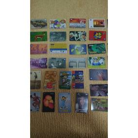Coleção Com 60 Cartões Telefônicos