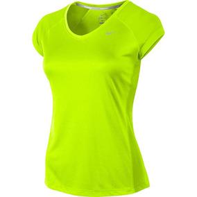 Blusa Deportiva Para Dama Marca Nike Color Volt