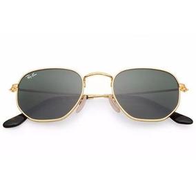 Lente Rayban Hexagonal Ray Ban Wayfarer - Óculos De Sol no Mercado ... 616fef6085