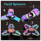 Fidget Hand Spinner Finger Toy Anti Metal Capitão América
