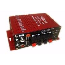 Mini Modulo Amplificador 2 Canais 12v Home Theater Ipods