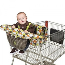 Madre Cesta De La Compra Cubiertas Para Bebé Y Silla Alta