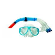 Snorkel Marfed Profesional Completo Mascara Buceo Y Valvula