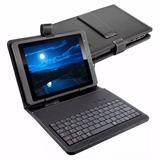 Capa Teclado P/ Tablet Dell Lenovo 9,6 A 10.1 Polegadas