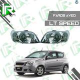 Faro Delantero Chevrolet Aveo Speed Lt 2011/2015