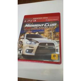 Jogo Midnight Club Los Angeles Playstation 3 Seminovo